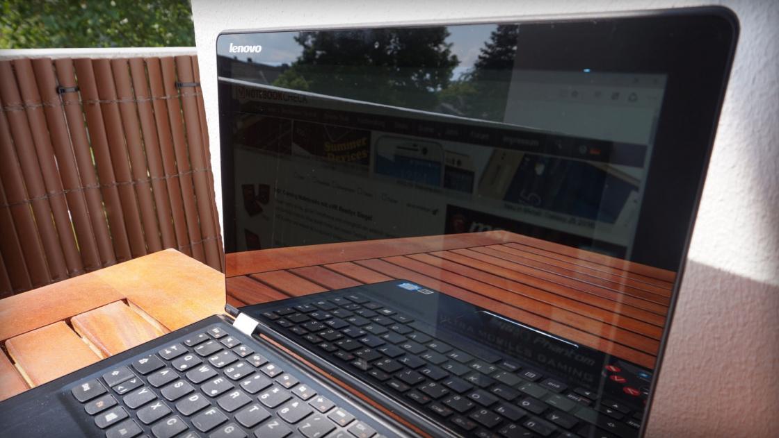 Яркость экрана ноутбука при дневном освещении