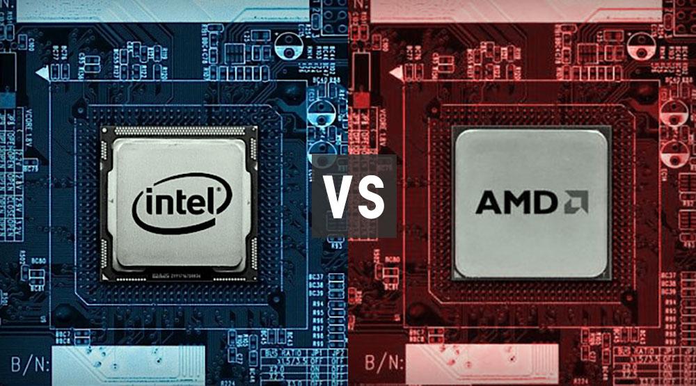 Производители процессоров для ноутбуков - Intel VS AMD