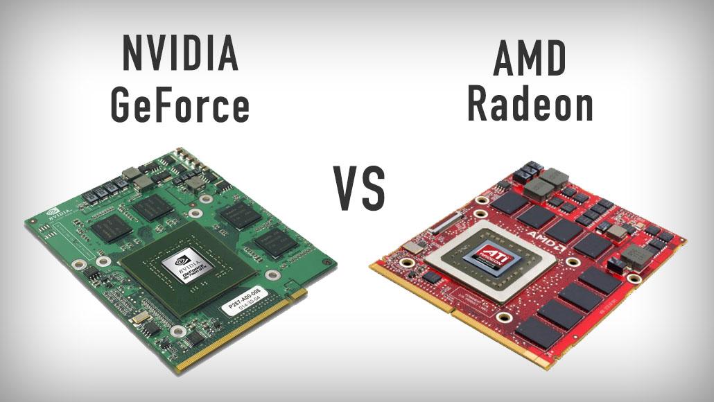 Видеокарты ноутбуков - NVIDIA GeForce и AMD Radeon