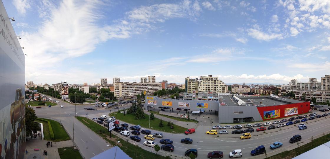 Панорамный снимок сделанный на Meizu Pro 6