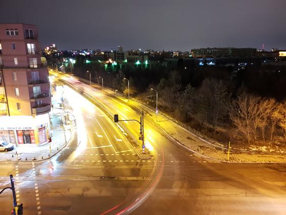 Фото сделанные на Samsung Galaxy S9 с апертурой f/1.5, с выдержкой 4 секунды