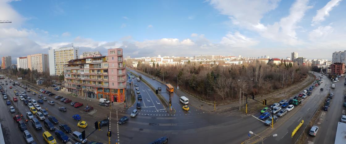 Панорамный снимок сделанный на Samsung Galaxy S9