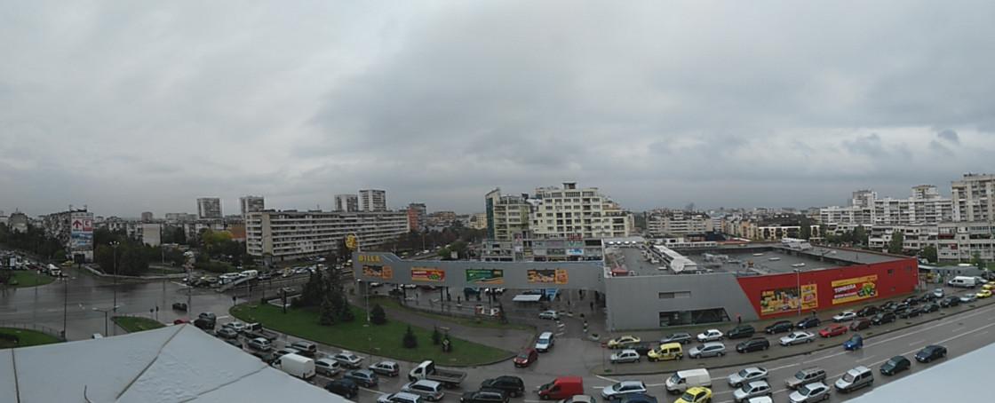 Пример панорамной съемки ZUK Z1