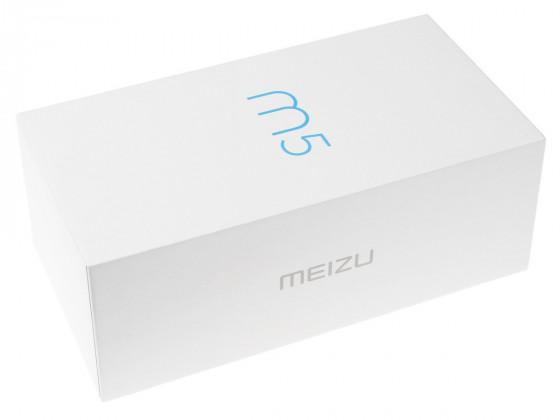 Обзор смартфона Meizu M5 - упаковка