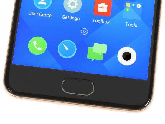 Обзор смартфона Meizu M5 - кнопка Home