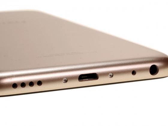 Обзор смартфона Meizu M5 - разъемы на нижнем торце