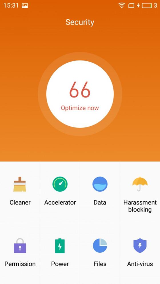 Обзор смартфона Meizu M5  - программное обеспечение (фото 2)
