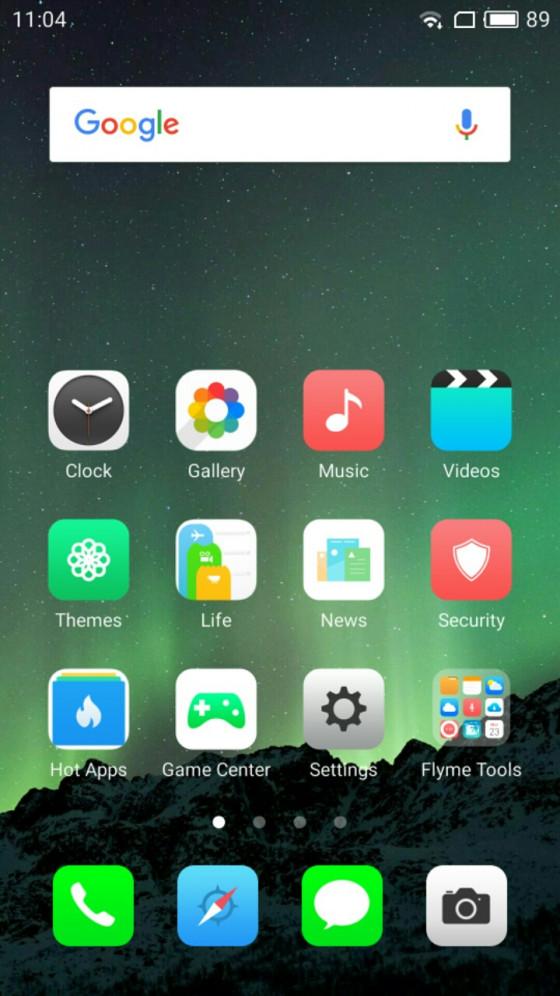 Обзор смартфона Meizu M5 - программное обеспечение (фото 4)