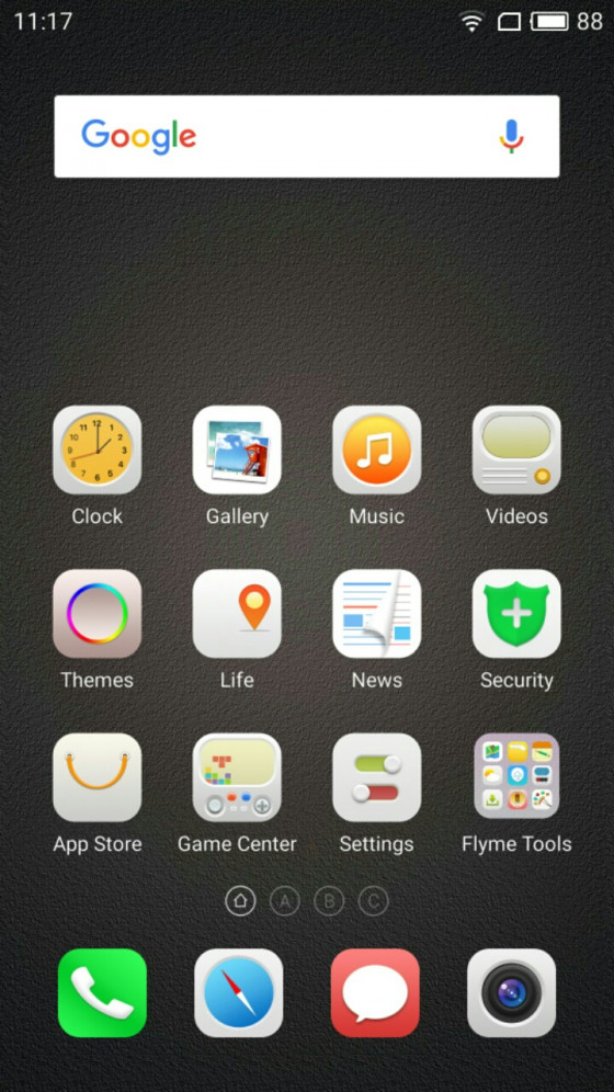 Обзор смартфона Meizu M5 - программное обеспечение (фото 5)