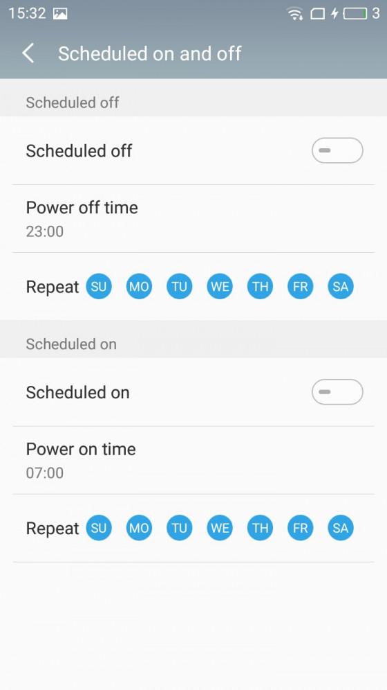 Обзор смартфона Meizu M5 - программное обеспечение (фото 6)