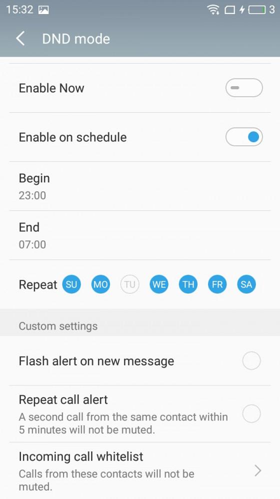 Обзор смартфона Meizu M5 - программное обеспечение (фото 7)