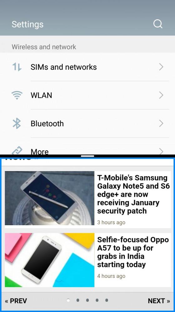 Обзор смартфона Meizu M5 - программное обеспечение (фото 10)