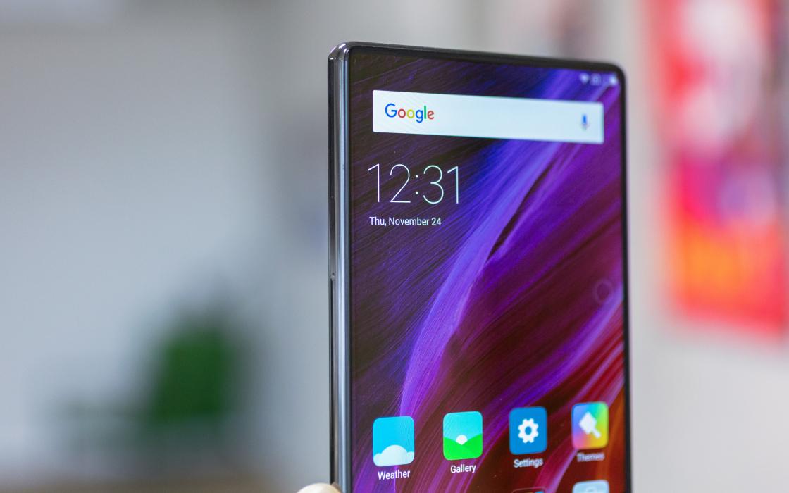 Обзор Xiaomi Mi Mix - дизайн
