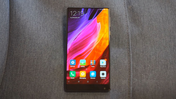 Обзор Xiaomi Mi Mix - экспериментальный смартфон без рамок