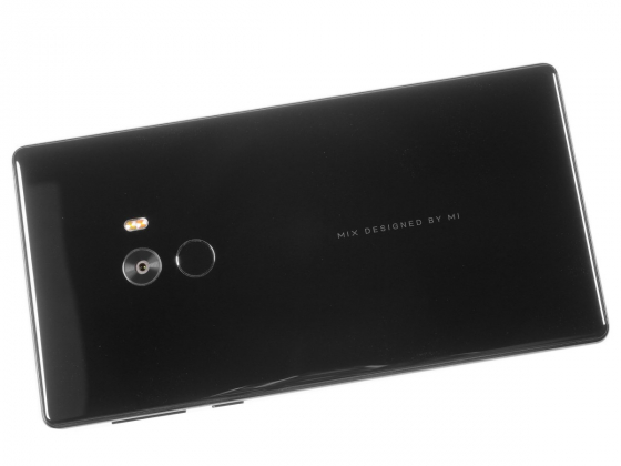 Обзор Xiaomi Mi Mix - вид сзади