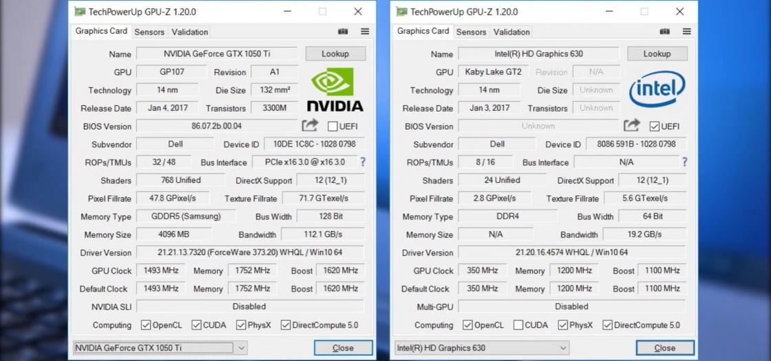 Обзор игрового ноутбука Dell Inspiron 7567 - производительность