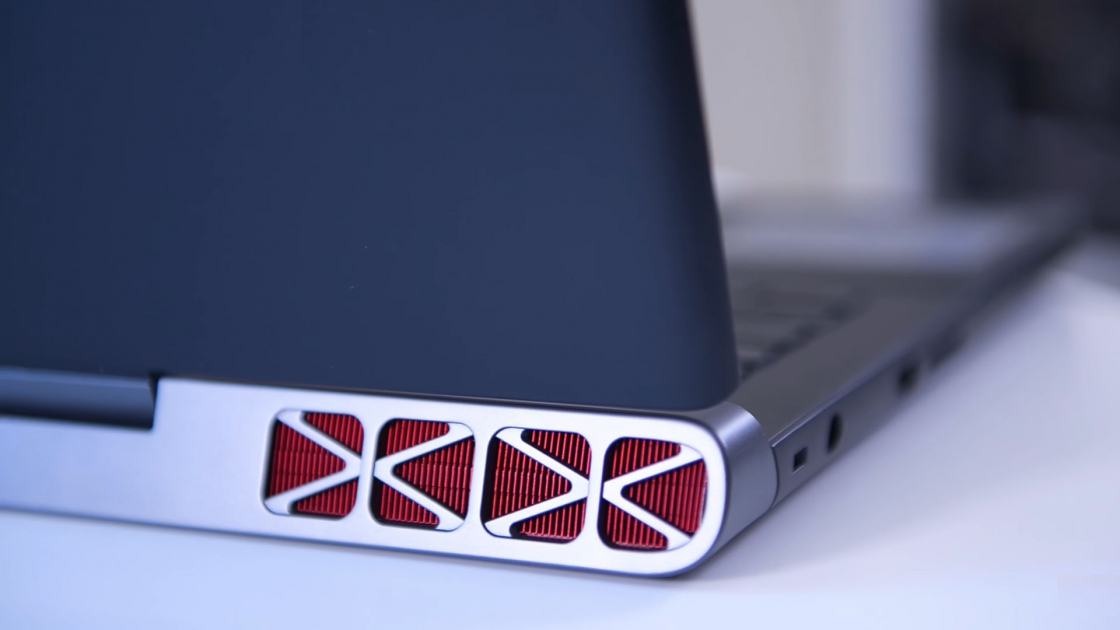 Обзор игрового ноутбука Dell Inspiron 7567 - охлаждение