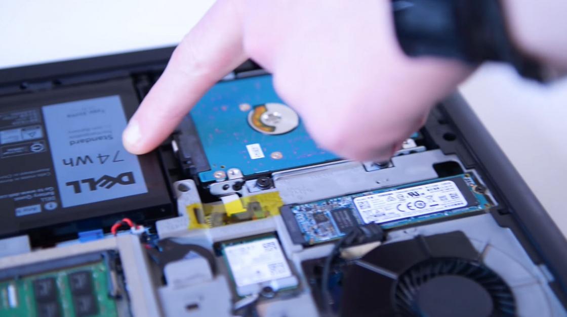 Обзор игрового ноутбука Dell Inspiron 7567 - батарея