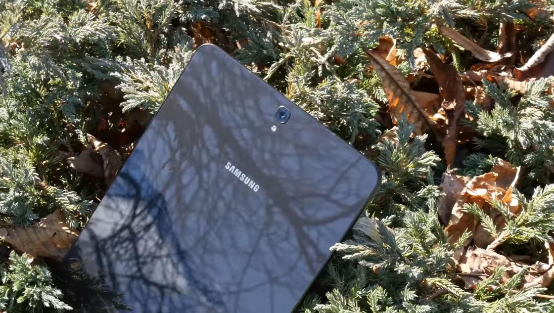 Обзор Samsung Galaxy Tab S3 - тыльная сторона