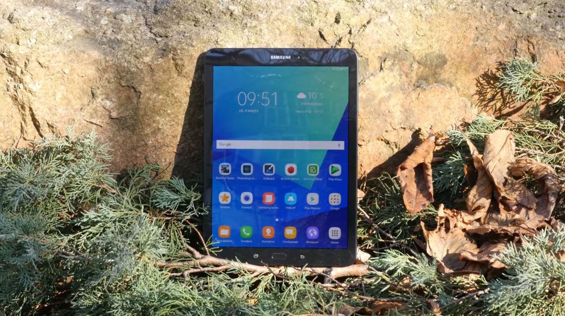 Обзор Samsung Galaxy Tab S3 - экран