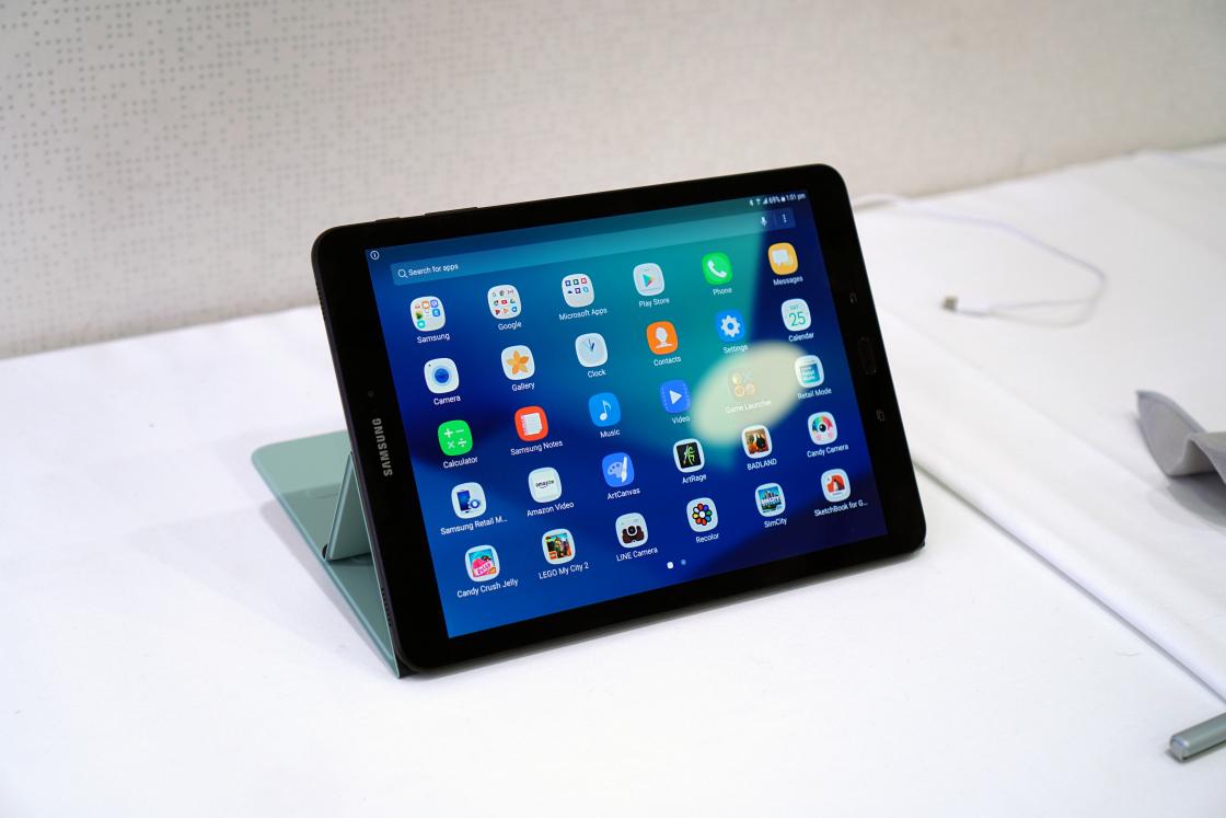 Обзор Samsung Galaxy Tab S3 - максимальные углы обзора