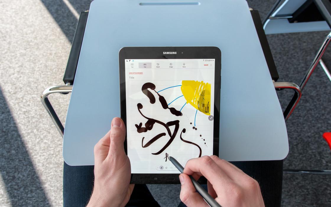 Обзор Samsung Galaxy Tab S3 - эскизы