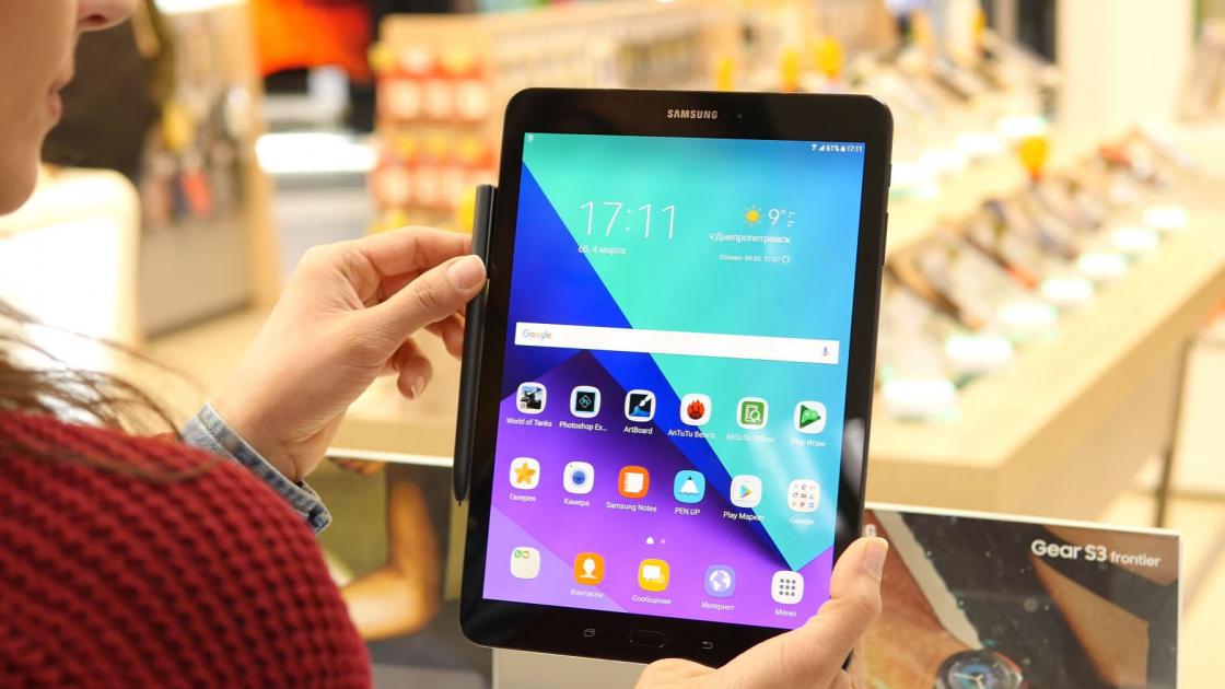 Обзор Samsung Galaxy Tab S3 - возможно лучший планшет на Android 2017