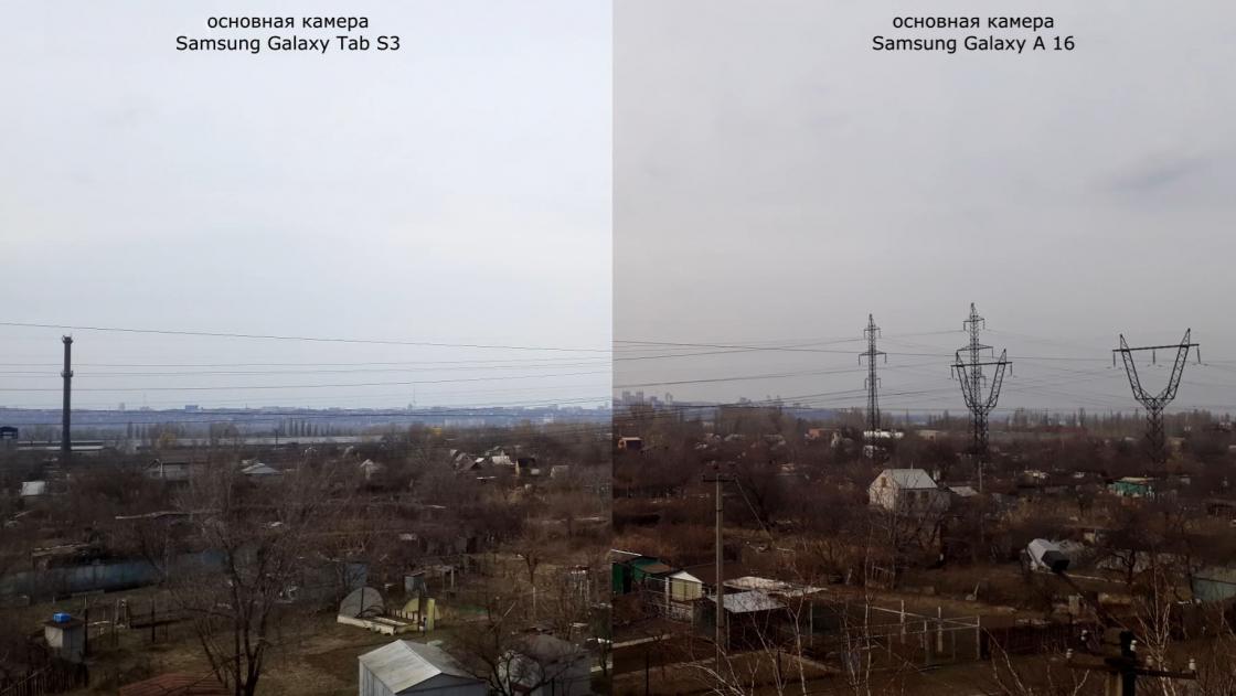 Обзор Samsung Galaxy Tab S3 - фото в сравнении с Galaxy A