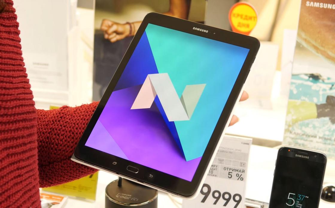 Обзор Samsung Galaxy Tab S3 - операционная система