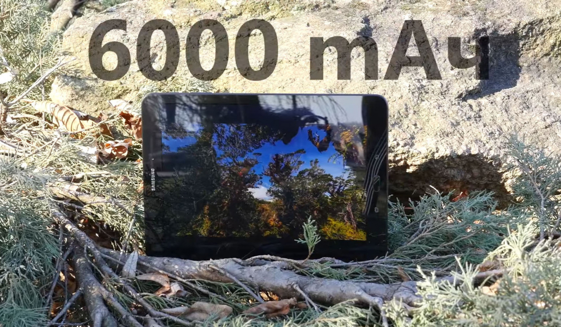Обзор Samsung Galaxy Tab S3 - батарея 6000 мАч