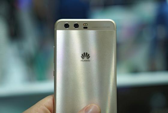 Huawei P10 в ослепительном золоте