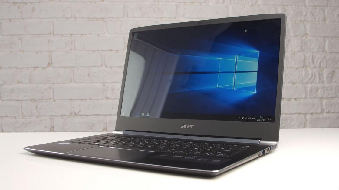 Обзор ноутбука Acer Swift 5 (SF514-51)