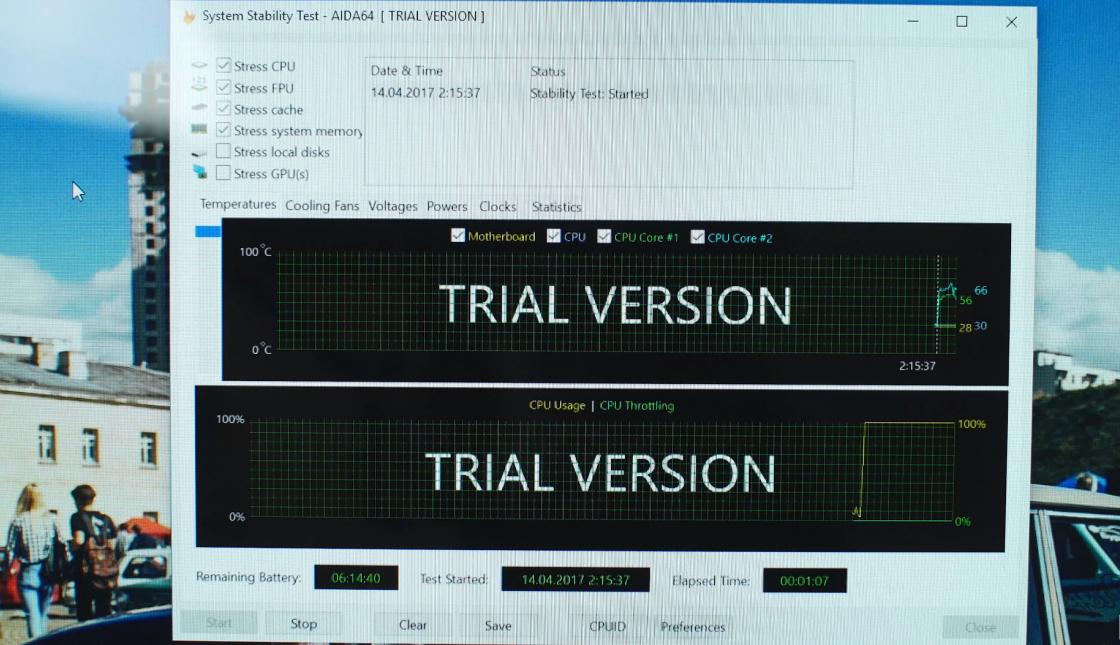 Обзор ноутбука Acer Swift 5 - производительность