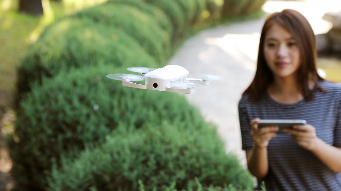Обзор мини-дрона Zerotech Dobby - 9 минут полета