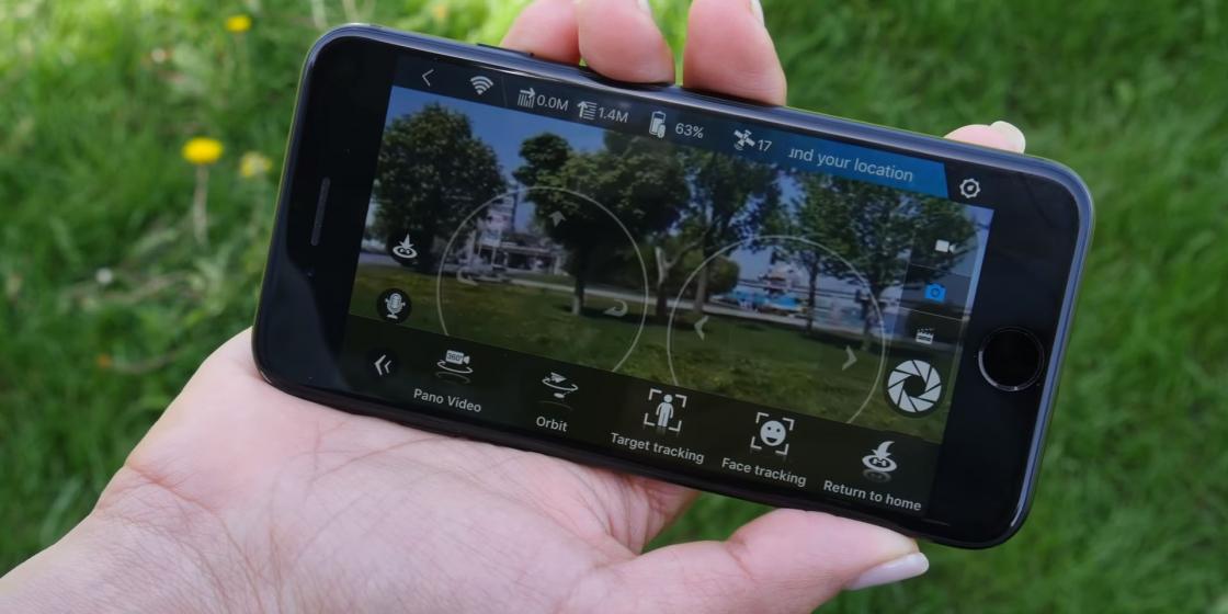 Обзор мини-дрона Zerotech Dobby - приложение DoFun