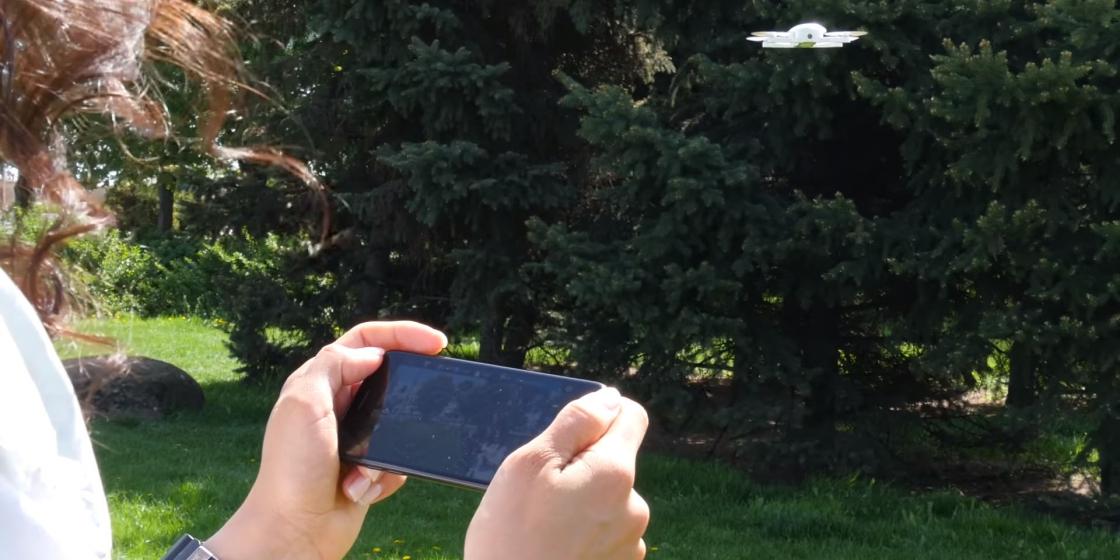 Обзор мини-дрона Zerotech Dobby - управление