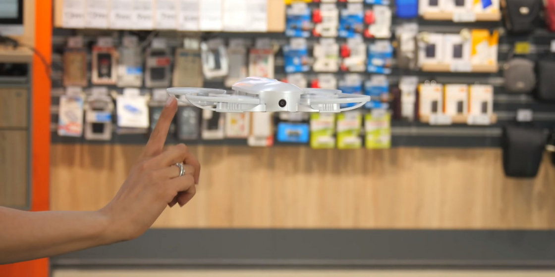 Обзор мини-дрона Zerotech Dobby - летает в помещении