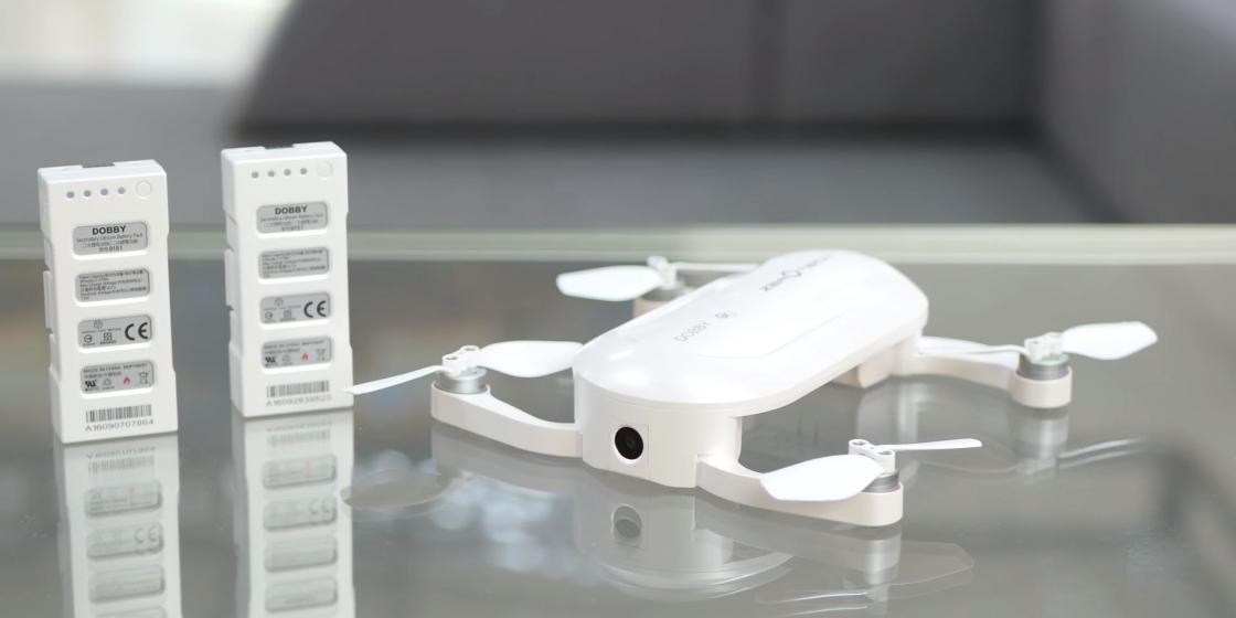 Обзор мини-дрона Zerotech Dobby - съемная компактная батарея