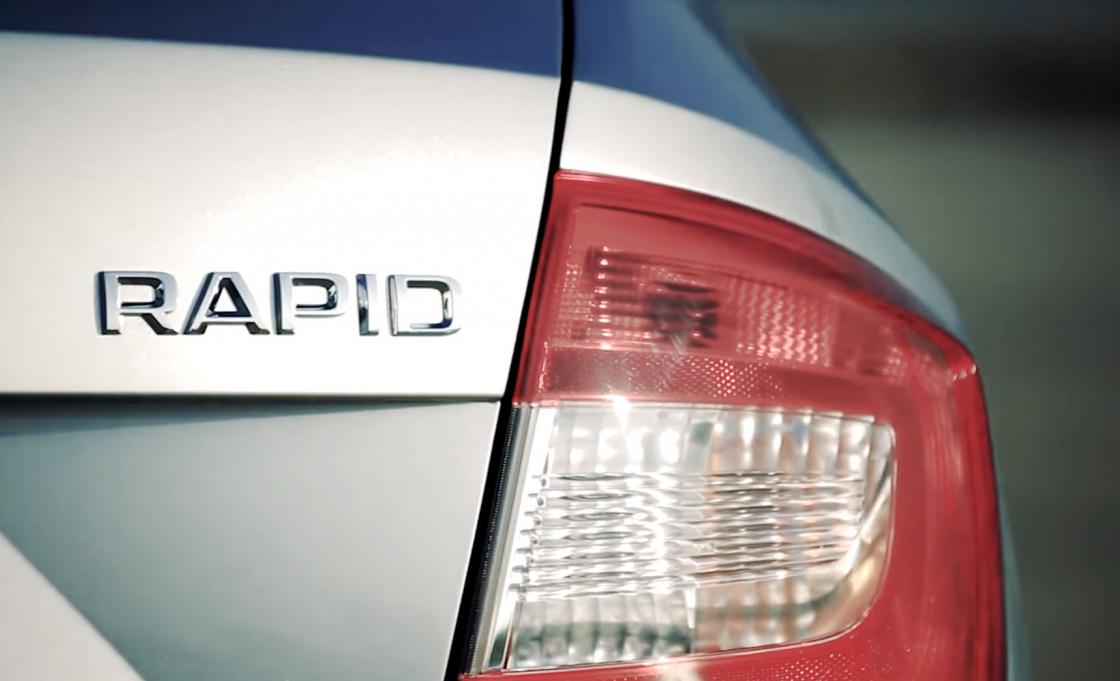 Обзор Skoda Rapid - задний фонарь