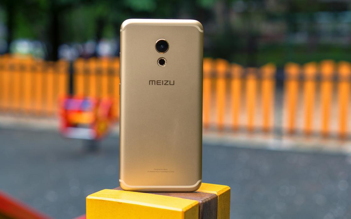 Обзор смартфона Meizu Pro 6 - вид сзади