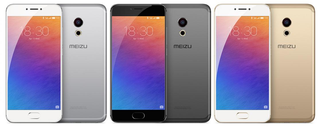 Обзор смартфона Meizu Pro 6 - цветовая гамма