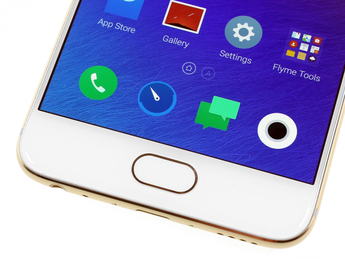 Обзор смартфона Meizu Pro 6 - кнопка HOME