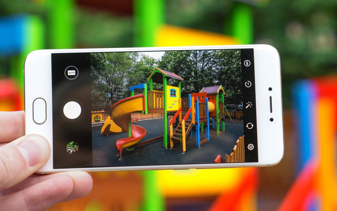 Обзор смартфона Meizu Pro 6 - режим съемки
