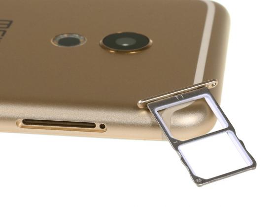 Обзор смартфона Meizu Pro 6 - лоток для сим-карты