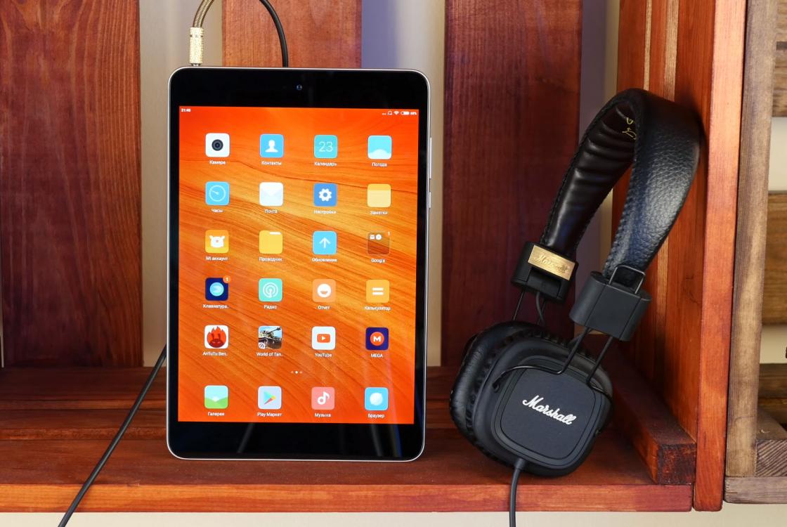 Обзор планшета Xiaomi Mi Pad 3 - отличное звучание в наушниках