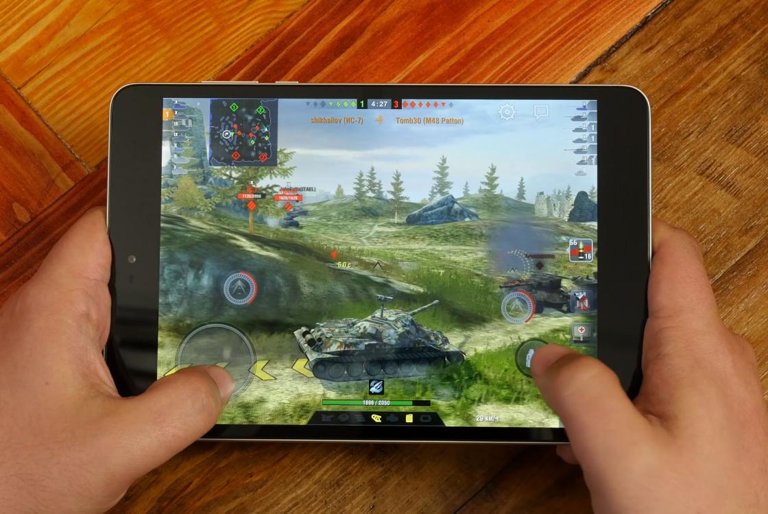 Обзор планшета Xiaomi Mi Pad 3 - Танки от 30 до 50 FPS