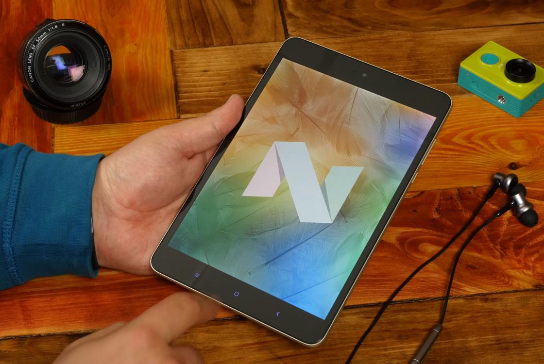 Обзор планшета Xiaomi Mi Pad 3 - Android OS 7.0