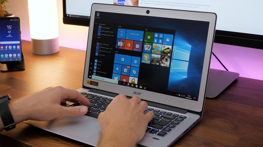 Обзор Acer Swift 3 - внешний вид