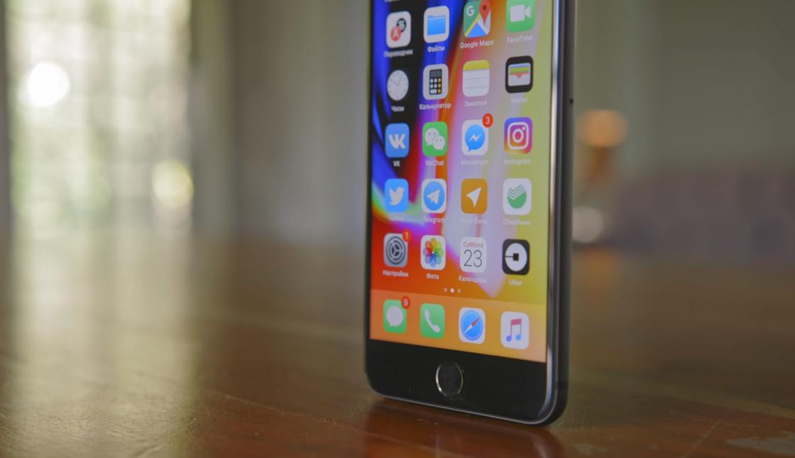Экран iPhone 8 и 8 Plus