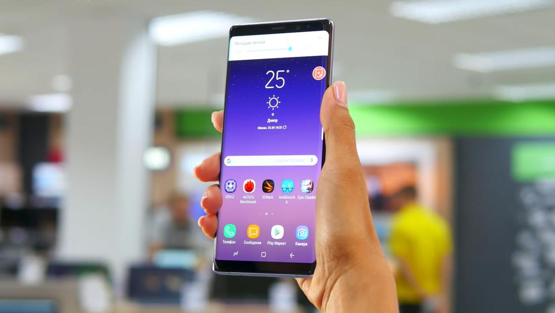 Обзор Samsung Galaxy Note 8